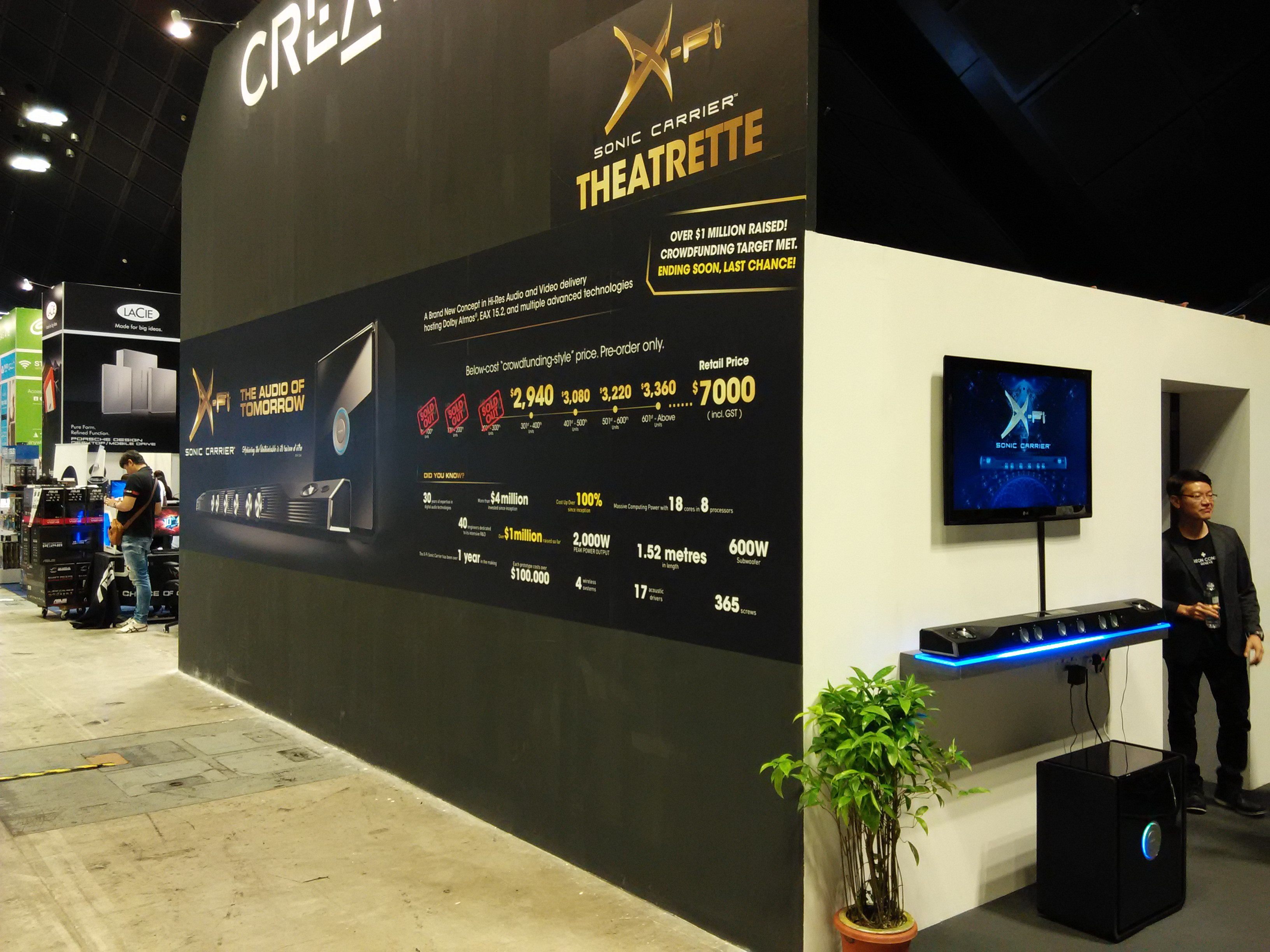 CREATIVE - Comex Show @ Suntec City (8 to 11 September 2016)