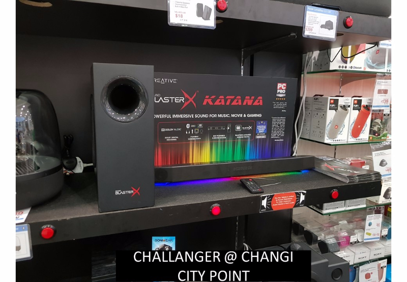 Creative Katana @ various retail outlet