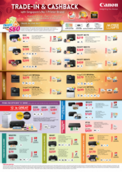 Canon Promotion 03 April to 17 May 2017 Front