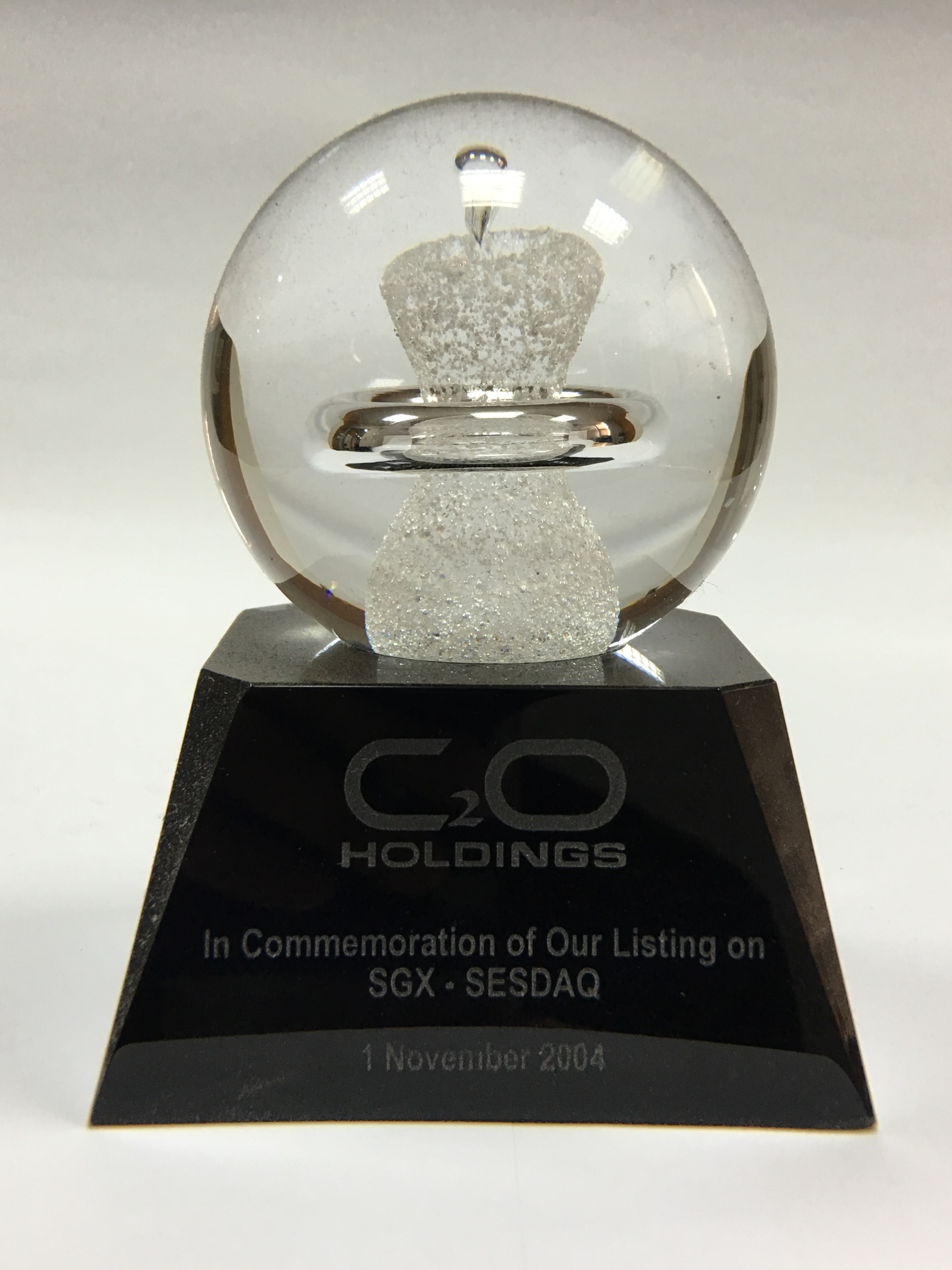 C2O Receive Awards & Trophies