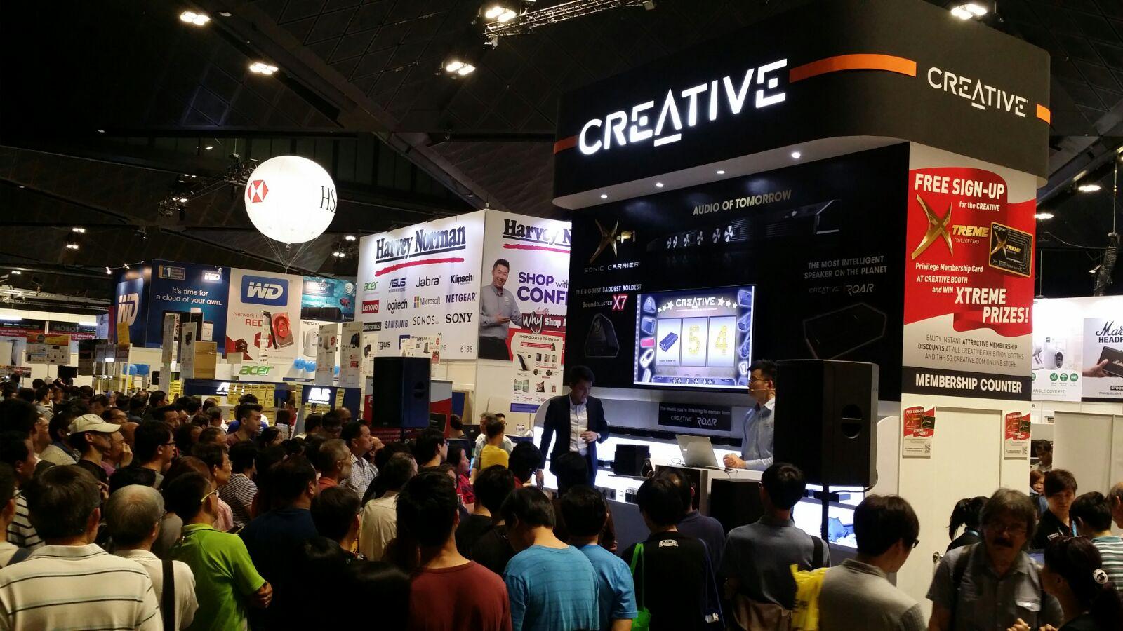 CREATIVE - I T  Show 2016 @ Suntec Singapore (10-13 March