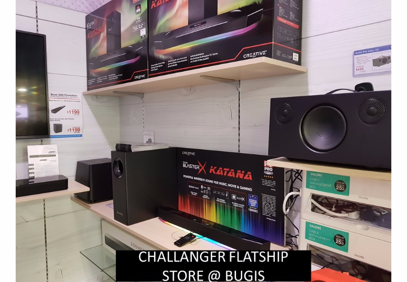 Creative Katana @ various retail outlet